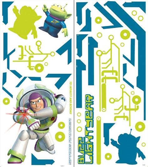 buzz lightyear wall stickers story buzz lightyear wall decals wall stickers