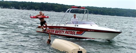 boat safety lessons about us geneva lake water safety patrol