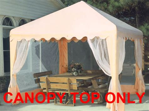 cing awnings and canopies replacement top with screens for 10x10 garden party canopy