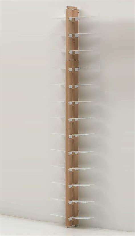 libreria da muro libreria da muro salvaspazio in legno massello 150 195