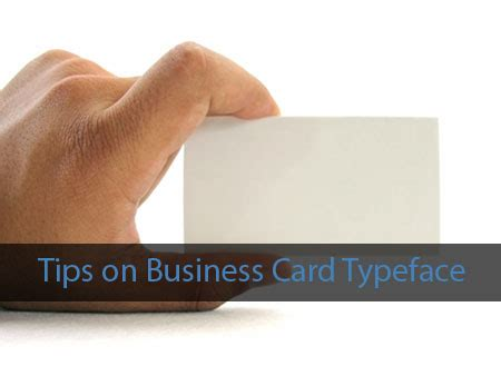 tips for business cards tips on business card typeface designbeep