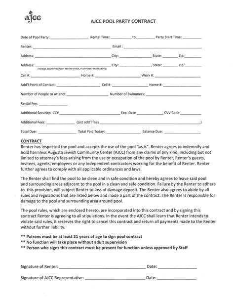 event rental agreement template 28 images of rentals for rental contract template