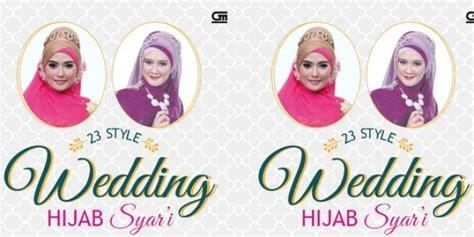 23 Style Wedding Syari Menutup Dada S226 Buku 23 Style Wedding Syar I Co Id