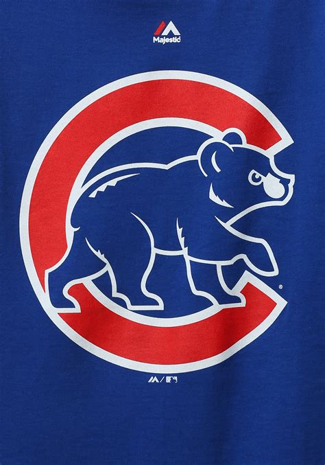 chicago cubs official logo s t shirt