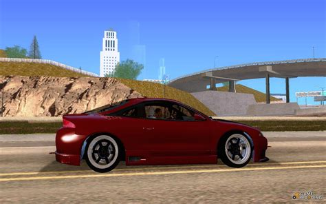 mitsubishi eclipse tuned mitsubishi eclipse gsx tuned for gta san andreas