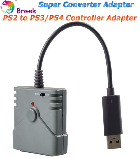 Converter Konverter Single Slot Ps 2 To Ps 3 Pc brook usb converter for ps2 to ps3 ps4 controller converter adapter use your ps2