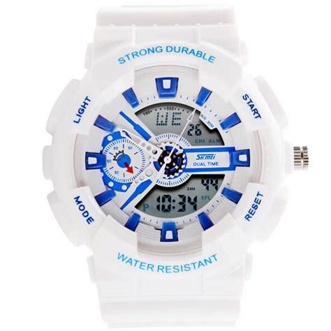 Jam Tangan Rubber Skmei Joker Original Fashion Style Fa Berkualitas 1 skmei ad0929 analog digital rubber band sport wrist alex nld
