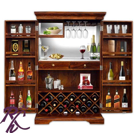 where to buy bar cabinets buy wooden bar cabinet in india rajhandicraft