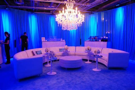 black light rental nj a white curved sectional sofa and ottoman from