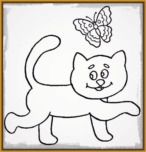 imagenes de gatitos faciles para dibujar bonitos dibujos de gatos faciles de dibujar dibujos de gatos