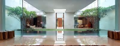 garden inside house luxury garden house in jakarta idesignarch interior