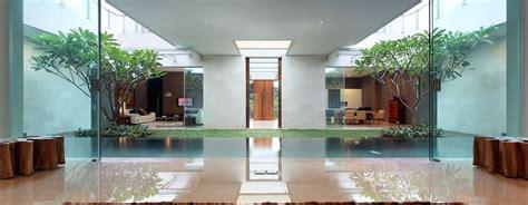 garden inside house design luxury garden house in jakarta idesignarch interior design architecture