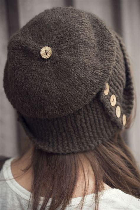 easy knitted hat robin hat finished object ravelry patterns and