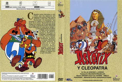 car 225 tula caratula de asterix y cleopatra asterix et cleop 226 tre