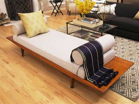 Livingroom Bench by Bench For Living Room With White Leather Bench Cushion
