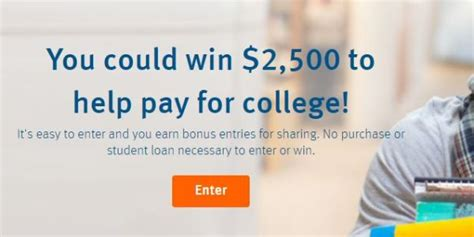 Student Loan Sweepstakes 2017 - discover student loans scholarship 2017 2018 usascholarships com