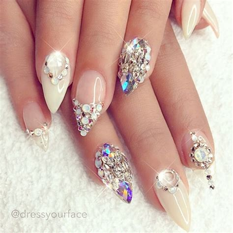 wedding nails 20 stunning wedding nails designs for 2017 wedding nail