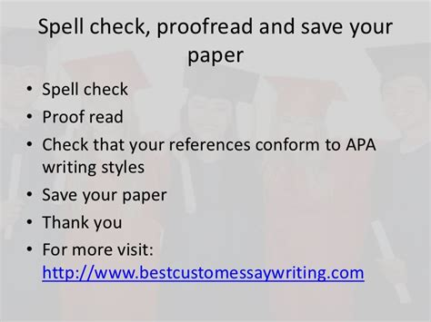 how to write a paper apa style exle how to write a paper apa style