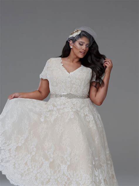 Short wedding dress Plus size   Diana short wedding