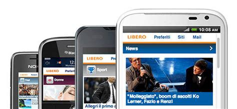 libero quotidiano mobile libero mobile sito web dell anno vota e vinci anche tu