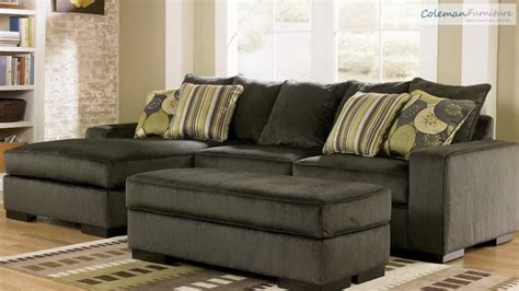 ashley 142 sectional freestyle pewter living room collection from signature
