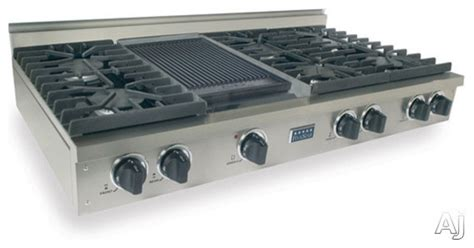 gas range tops five 48 quot pro style lp gas rangetop with 6 sealed burners contemporary cooktops other