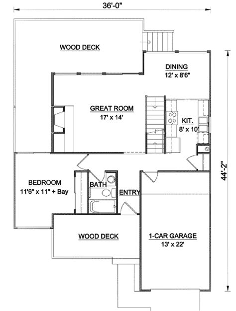 multi level floor plans multi level decks 12718ma architectural designs house plans