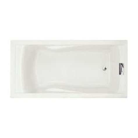 6 Foot Bathtub American Standard Bathtub Evolution 6 Ft Acrylic Bathtub