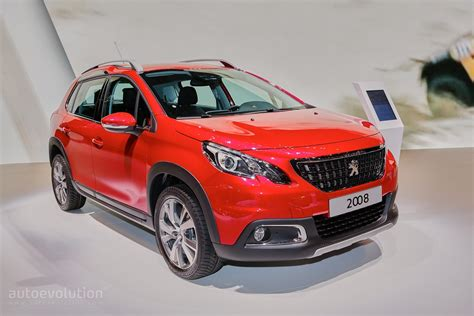 peugeot 2016 for 2016 peugeot 2008 facelift joins opel mokka x for geneva