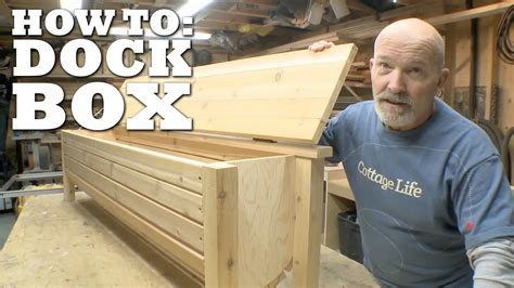 build  dock box building  dock patio storage