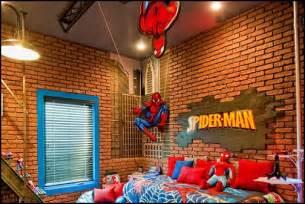 Spiderman bedroom decorating ideass spiderman bedrooms spiderman