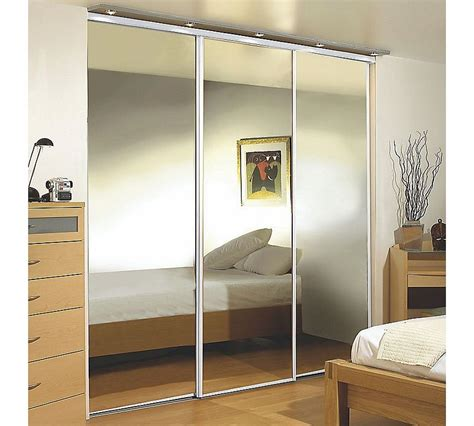 Sliding Mirror Wardrobe Doors by 2 Door Sliding Wardrobe White