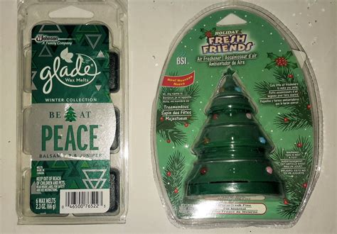 wholesale lot of 8 fun holiday christmas air freshners