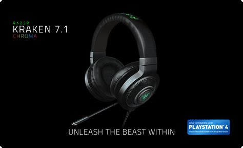 Headphone Razer Kraken Chroma razer kraken 7 1 chroma buy gaming grade headphones official razer store united states