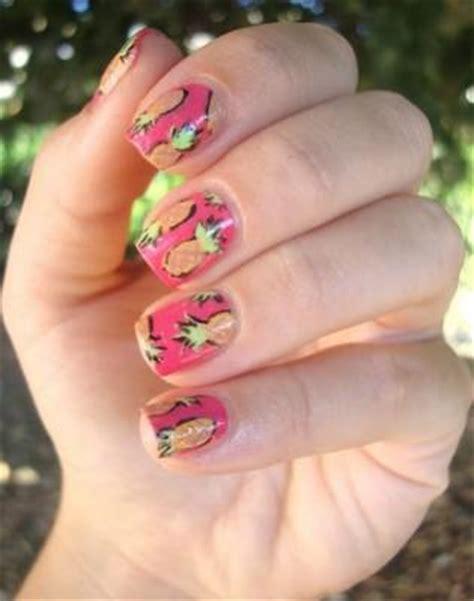 nail art tutorial kiwi watermelon kiwi and pineapple nail art inspiration musely