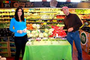 Food Demonstrator by This Weekend S Demo At Whole Foods Micro Salad