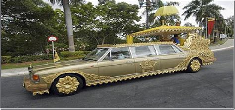 sultan hassanal bolkiah car collection sultan of brunei hassanal bolkiah walking in the rain