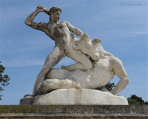 hercules and minotaur statue in tuileries gardens page 8