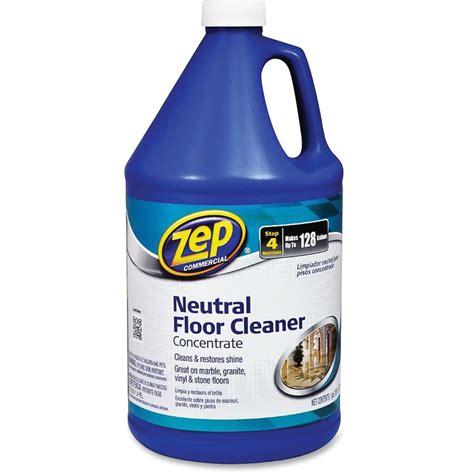 Zep Neutral Floor Cleaner zep concentrated neutral floor cleaner zpezuneut128 supplygeeks