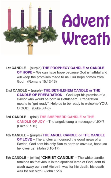 advent candle lighting readings 2017 advent wreath guide to meaning awesome tradition to
