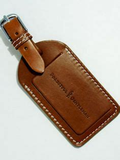 Leather Tag 1000 images about a leather luggage tag on