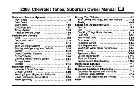how to download repair manuals 2010 chevrolet tahoe seat position control 2008 chevrolet tahoe owners manual just give me the damn manual