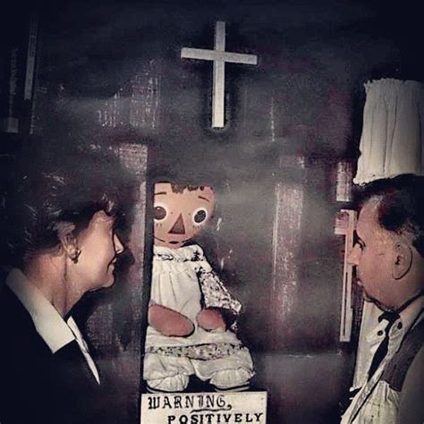 annabelle doll occult museum the real conjuring a look at ed and lorraine warren