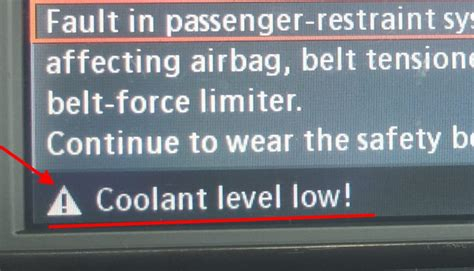 bmw coolant warning how to check bmw coolant level low warning