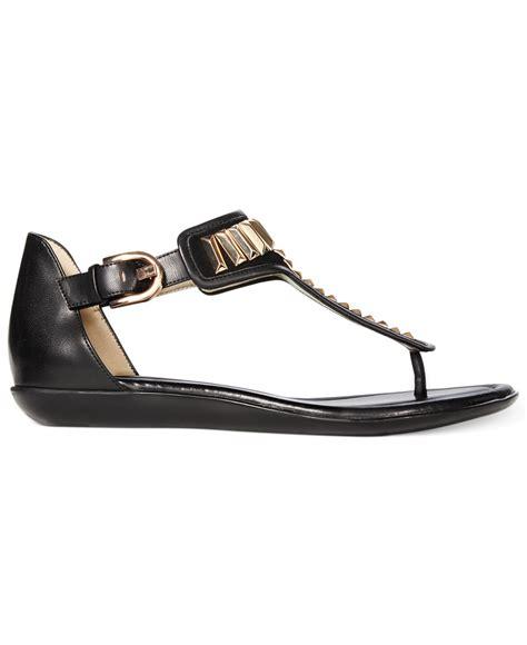 bandolino sandals lyst bandolino jagger sandals in black