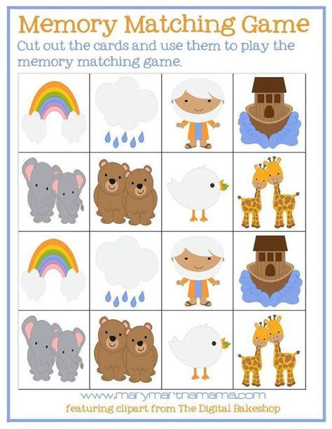 printable preschool games free noahs ark preschool pack sunday school pinterest