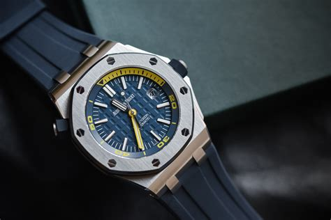 ap black themes review audemars piguet royal oak offshore diver funky colors