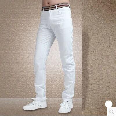Celana Panjang Jogger Putih White popular mens white cargo aliexpress