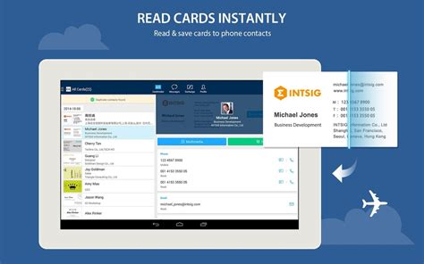 app for card camcard free business card r android apps on play