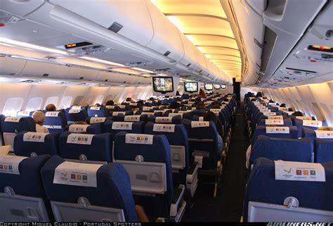A310 Cabin by Airbus A310 304 Sata International Aviation Photo